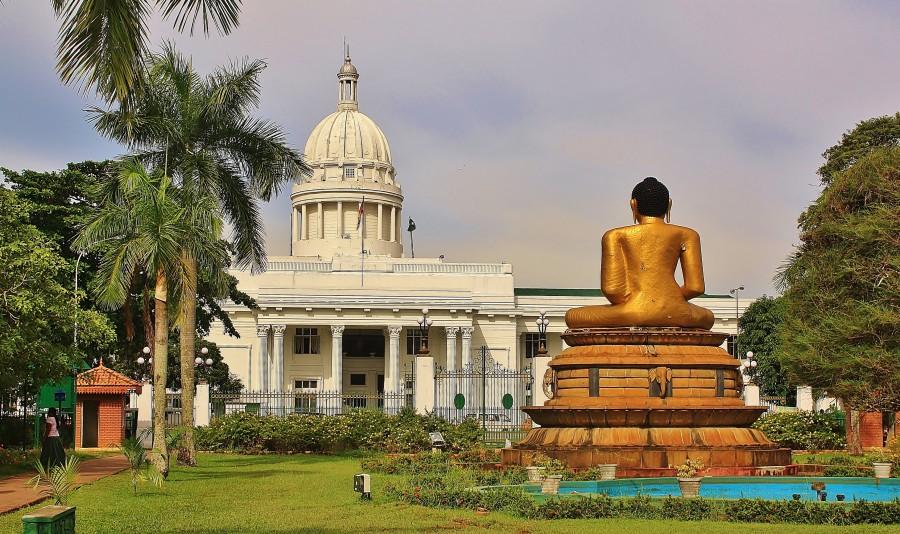 Botanical Gardens in Colombo, Sri Lanka.