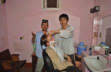 Tadżykistan - golenie.