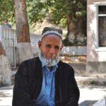 Tadżykistan - interesująca twarz.