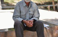 Tadżykistan - stary mężczyzna.