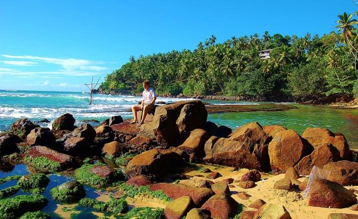 Mirissa. South coast of Sri Lanka.