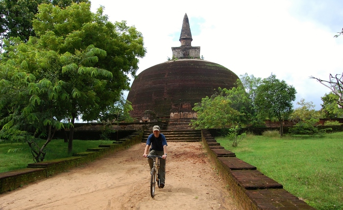 The ancient city of Anuradhapura. Sri Lanka.