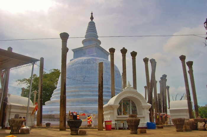 The ancient cities of Sri Lanka.