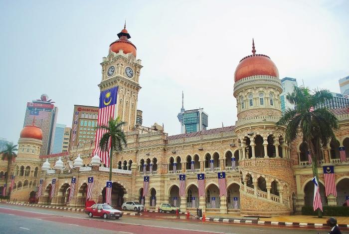 Merdeka Square in Kuala Lumpur. Malaysia.