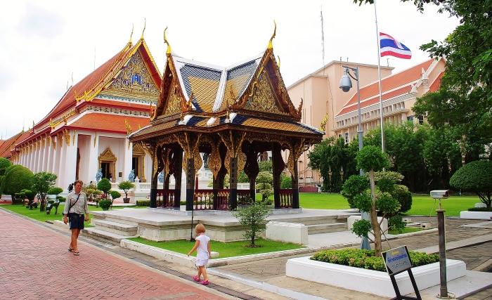 Wat Phra Kaew temple in Bangkok.