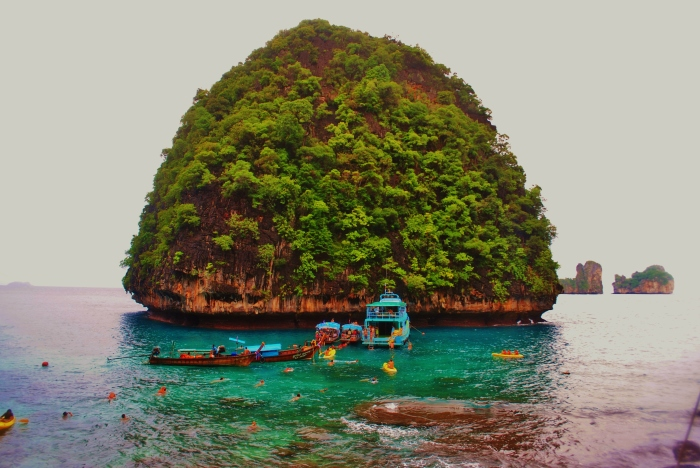 Andaman Sea in Thailand.