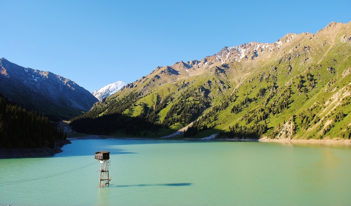 Big Almaty Lake, which is a good example that many countries which I explored look good on pictures but travelling around them is a completely different story.
