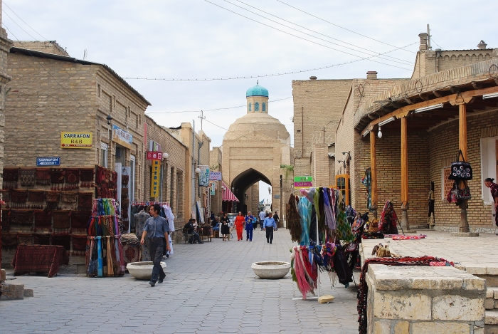 Bukhara - one of the many trade centres on the ancient Silk Road.