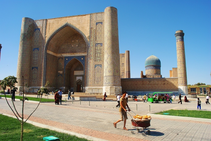 Samarkand - the pearl of the Silk Road.