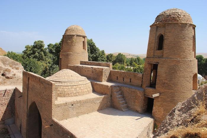 Tajikistan - gate in Hissar.