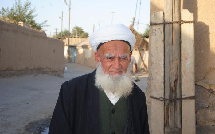 Tajikistan - a Muslim man from Istaravshan.