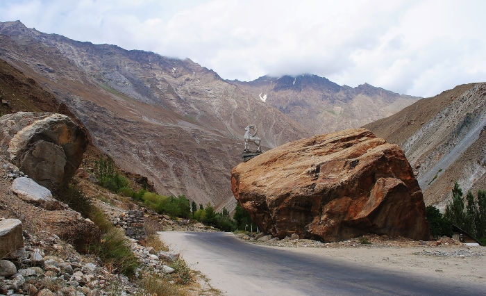 The Pamir Highway - the Gunt Valley.