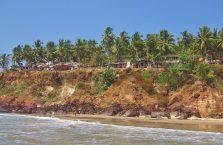 Indie - Varkala nad Morzem Arabskim.