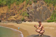 Indie - Goa; Morze Arabskie.