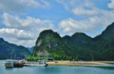 Wietnam - Zatoka Halong, (Zatoka Tonkińska).