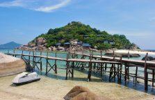 Tajlandia - Koh Nang Yuan (Zatoka Tajska).Tajlandia - Koh Nang Yuan (Zatoka Tajska).