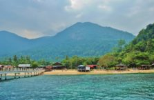 Malezja; Pulau Tioman (Morze Południowo - Chińskie).