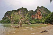Tajlandia - Railay, (Morze Andamańskie).