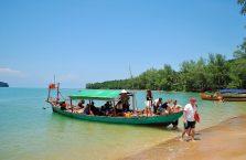 Kambodża - wycieczka na 3 wyspy z Hinaokville w Zatoce Tajskiej.