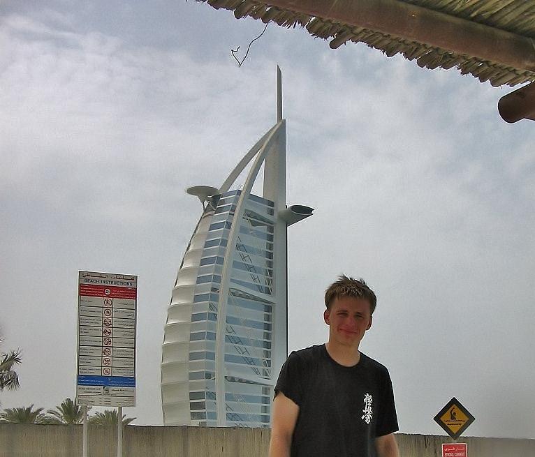 Burj Al Arab hotel Jumeirah Dubai.