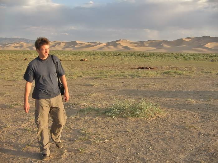Mongolia - my adventure in the Gobi desert.