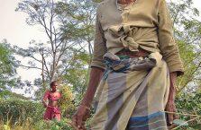 Bangladesz - biedna kobieta.