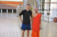 Tajlandia - mnich buddyjski.