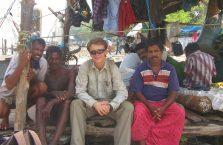 Indie - z rybakami.