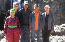 Mongolia - z mongolską rodzina.