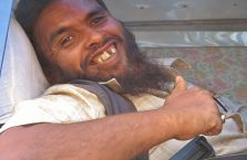 Nepal - zabawny muzułmanin.