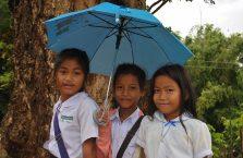 Laos - dzieci szkolne.