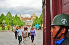 Tajlandia - strażnik.