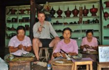 Birma - w fabryce cygar.