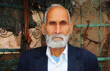 Iran - stary człowiek.