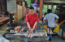 Laos - grill.