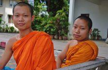 Tajlandia - młodzi mnisi.
