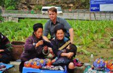 Wietnam - z kobietami w Sapie.