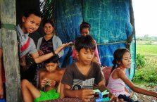 Kambodża - dzieci.
