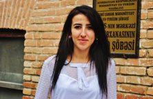 Azerbejdżan - młoda dziewczyna.