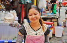 Tajlandia - młoda dziewczyna.