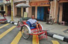 Malezja - taksówkarz.