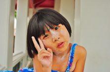 Tajlandia - tajska dziewczynka.