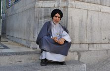 Iran - muzułmanin w mieście Qom.