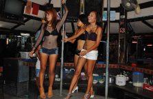Tajlandia - tancerki na Koh Samui.