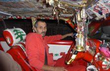Liban - kierowca taksówki.