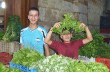 Liban - chłopcy na bazarze.