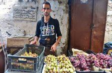 Liban - na bazarze.