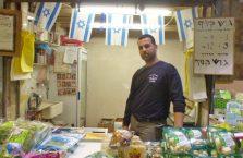 Izrael - żyd na bazarze.