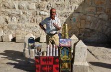 Palestyna - sprzedawca kawy.