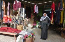Palestyna -Arab na bazarze.
